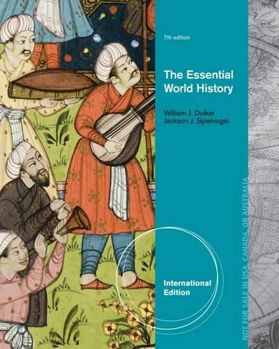 9781133936220: The Essential World History