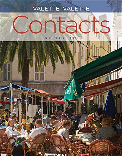 9781133937623: Student Activities Manual for Valette/Valette's Contacts: Langue et culture françaises, 9th