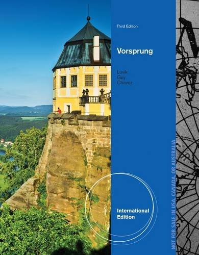 9781133938507: Vorsprung: A Communicative Introduction to German Language And Culture, Enhanced
