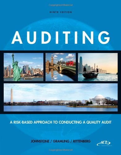 Auditing: A Risk-Based Approach to Conducting a: Rittenberg, Larry E.,