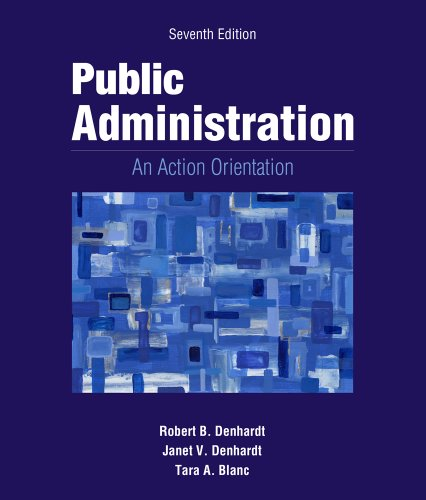 9781133939207: Public Administration: An Action Orientation (Book Only)