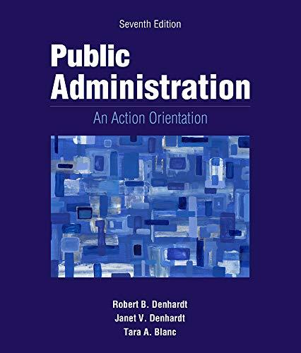 9781133939214: Public Administration: An Action Orientation, (with CourseReader 0-30: Public Administration Printed Access Card)