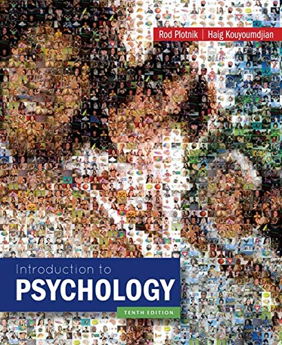 Introduction to Psychology: Kouyoumdjian, Haig, Plotnik,