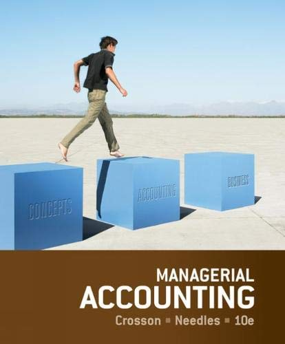 9781133940593: Managerial Accounting