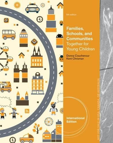 9781133942290: Families, Schools and Communities: Together for Young Children, International Edition