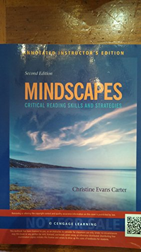 9781133942733: Mindscapes: Critical Reading Skills And Strategies