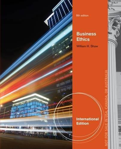 9781133943150: Business Ethics, International Edition