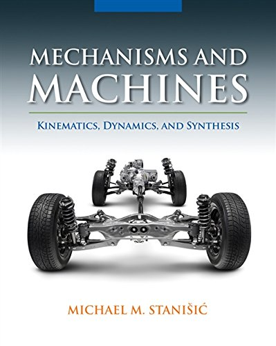 Mechanics of the Cell 9781133943914 MECHANISMS AND MACHINES: KINEMATICS, DYNAMICS, AND SYNTHESIS has been designed to serve as a core textbook for the mechanisms and machines course, targeting junior level mechanical engineering students. The book is written with the aim of providing a complete, yet concise, text that can be covered in a single-semester course. The primary goal of the text is to introduce students to the synthesis and analysis of planar mechanisms and machines, using a method well suited to computer programming, known as the Vector Loop Method. Author Michael Stanisic's approach of teaching synthesis first, and then going into analysis, will enable students to actually grasp the mathematics behind mechanism design. The book uses the vector loop method and kinematic coefficients throughout the text, and exhibits a seamless continuity in presentation that is a rare find in engineering texts. The multitude of examples in the book cover a large variety of problems and delineate an excellent problem solving methodology.