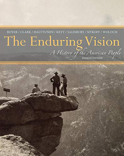 9781133944522: The Enduring Vision: A History of the American People (MindTap Course List)