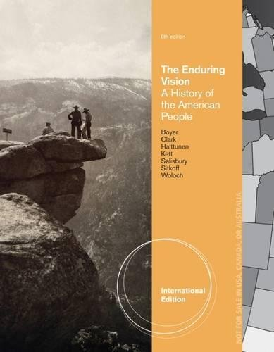 9781133945314: The Enduring Vision: A History of the American People, International Edition