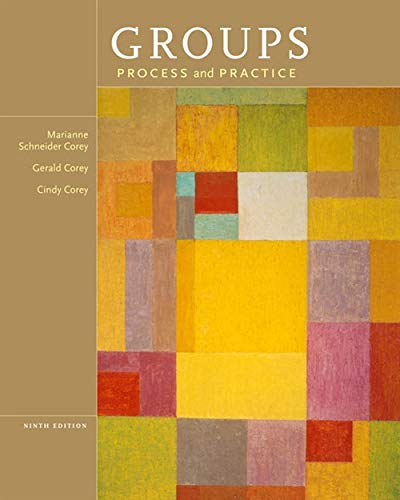 9781133945468: Groups: Process and Practice, 9th Edition (HSE 112 Group Process I)