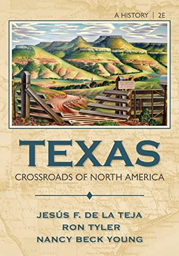 TEXAS:CROSSROADS OF NORTH AMERICA: DELATEJA