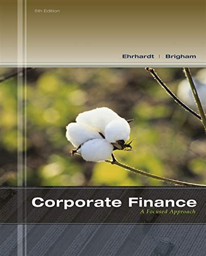 Corporate Finance: A Focused Approach (with Thomson: Brigham, Eugene F.;