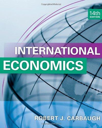 International Economics (Hardback): Robert Carbaugh