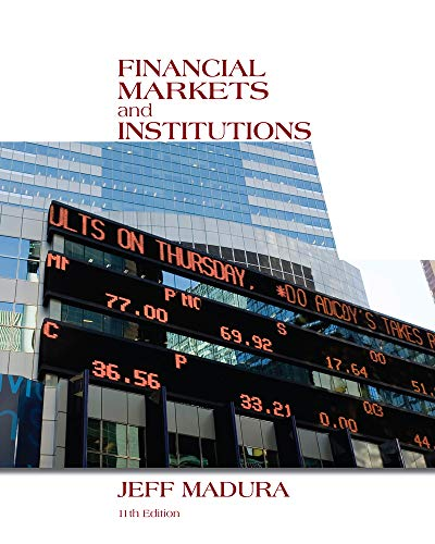 9781133947875: Financial Markets and Institutions (with Stock Trak Coupon)