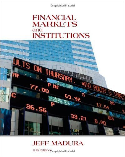 9781133947882: Financial Markets and Institutions