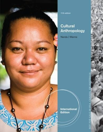 9781133948681: Cultural Anthropology, International Edition