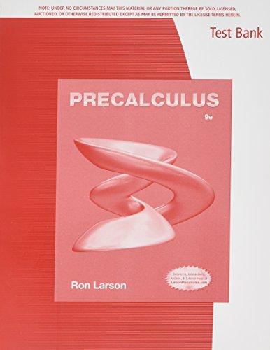 9781133949237: Tb Precalculus