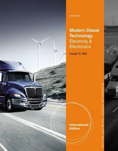 9781133949664: Modern Diesel Technology: Electricity and Electronics