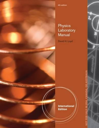 9781133950622 physics laboratory manual international edition rh abebooks co uk Physics Laboratory Manual PDF Loyd Physics Laboratory Manual Solutions