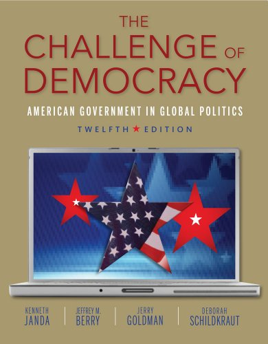 The Challenge of Democracy (Book Only): Janda, Kenneth