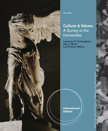 9781133951223: Culture and Values: A Survey of the Humanities, International Edition