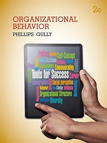 9781133953609: Organizational Behavior: Tools for Success
