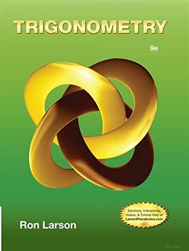 Trigonometry: Larson, Ron