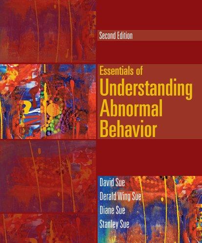 9781133956334: Cengage Advantage Books: Essentials of Understanding Abnormal Behavior