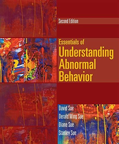 9781133956358: Essentials of Understanding Abnormal Behavior (Cengage Advantage Books)