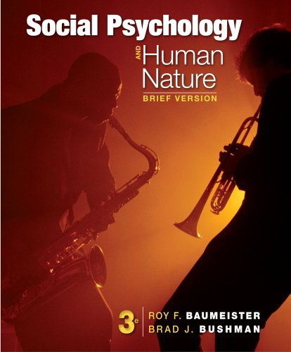 9781133956402: Social Psychology and Human Nature, Brief