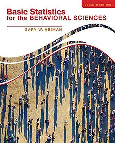 9781133956525: Basic Statistics for the Behavioral Sciences