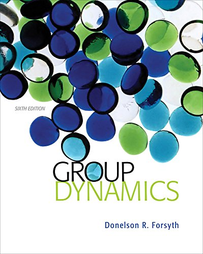 Group Dynamics: Forsyth, Donelson R.