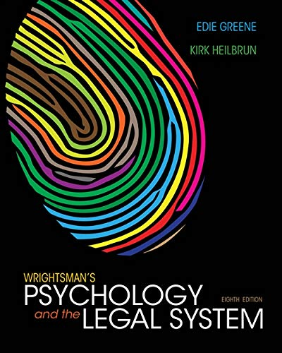 9781133956563: Wrightsman's Psychology and the Legal System, International Edition