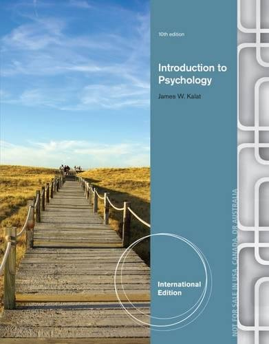 Introduction to Psychology: James W. Kalat