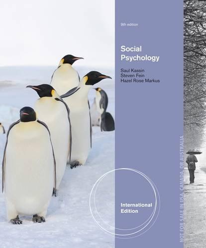 9781133957720: Social Psychology