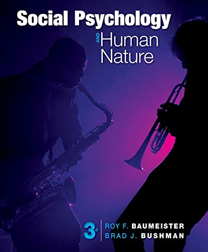 9781133957799: Social Psychology and Human Nature, Comprehensive Edition (Cengage Advantage Books)