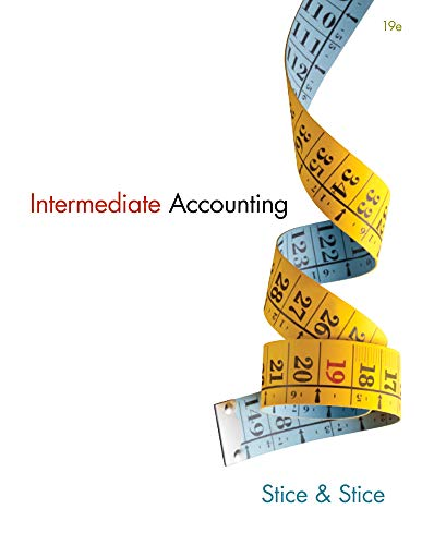 Intermediate Accounting (w/out AccessCode): Stice