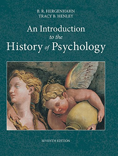 An Introduction to the History of Psychology: B. R. Hergenhahn,