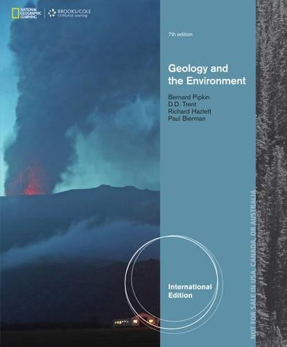 9781133958208: Geology and the Environment, International Edition