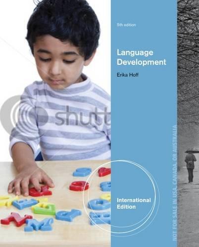 9781133958352: Language Development, International Edition
