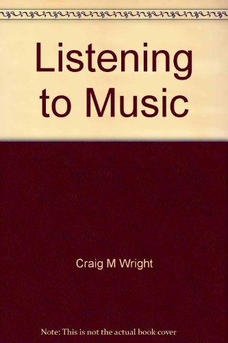 Introduction to Listening CD for Listening to: Craig Wright