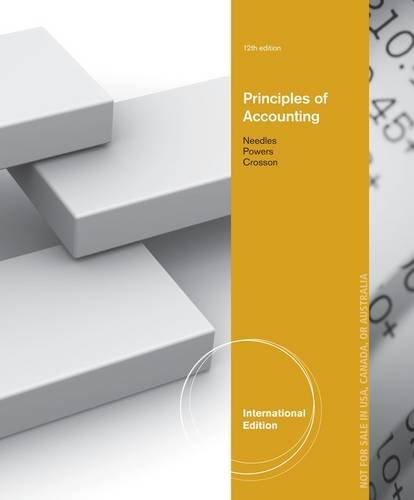 9781133959830: Principles of Accounting