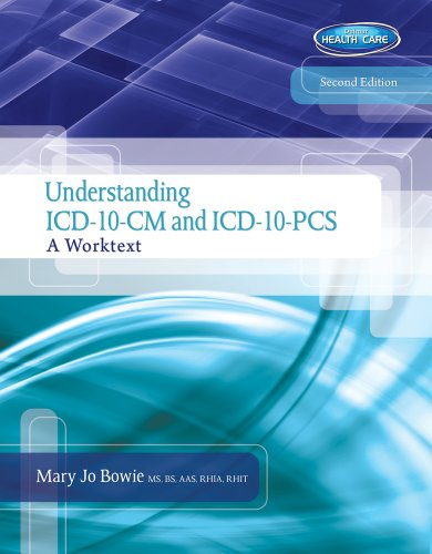 Understanding ICD-10-CM and ICD-10-PCS: A Worktext (Book Only) (1133961045) by Mary Jo Bowie; Regina M Schaffer