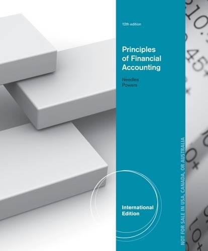 9781133962359: Principles of Financial Accounting, International Edition