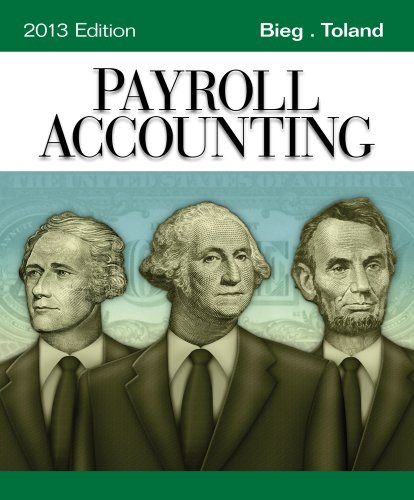 9781133962533: Payroll Accounting 2013 (with Computerized Payroll Accounting Software CD-ROM)
