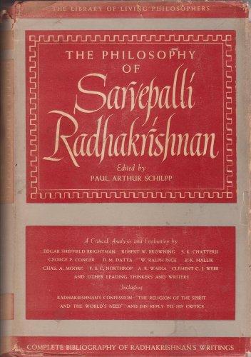 The Philosophy of Sarvepalli Radhakrishnan.: Schilpp, Paul Arthur