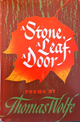 9781135246365: A Stone, A Leaf, A Door 1st Edition