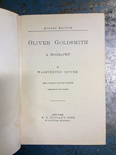 9781135246570: Oliver Goldsmith: A biography