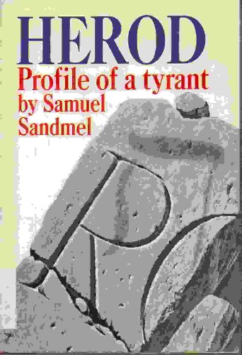 9781135247935: Herod;: Profile of a tyrant